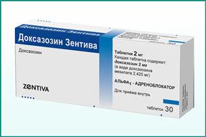 Альфа адреноблокаторы: популярные препараты при простатите