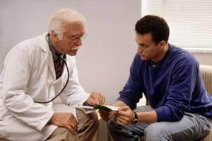 Определение признаков простатита по присутствующим симптомам