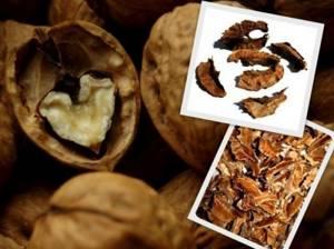 Настойка из перегородок грецкого ореха: помощь при мастопатии