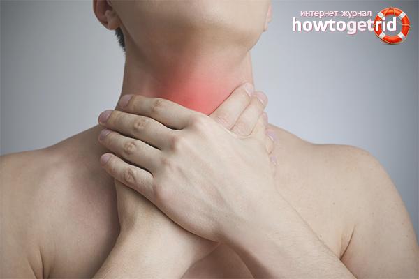 Першит в горле и хочется кашлять: народные методы лечения