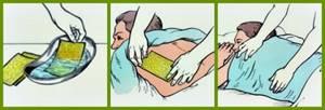 Как использовать горчичники при сухом кашле у взрослых и детей