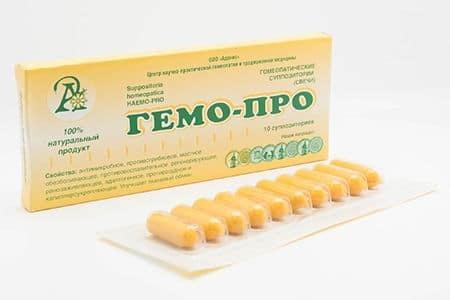 Свечи от геморроя и простатита: список препаратов и их свойства