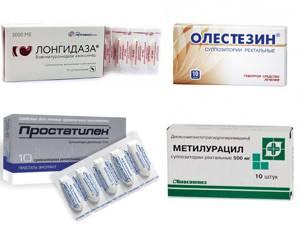 Список свечей от простатита с антибиотиком молочница у женщин и простатит