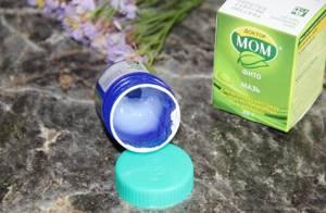 Мазь Доктор Мом при кашле: особенности использования препарата