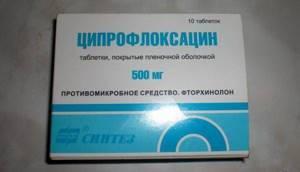 Ципрофлоксацин при простатите: способы лечения антибиотиком