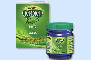 Мазь Доктор Мом: действие на организм, правила применения, ограничения к использованию, побочные эффекты