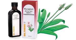 Доктор Тайсс: сироп от кашля с добавлением экстракта подорожника