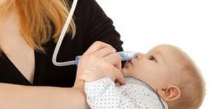 Чем лечить насморк у новорожденного и чего следует опасаться