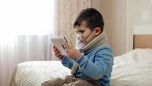 Как проводятся ингаляции с физраствором при кашле у детей