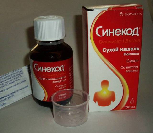 Синекод сироп от кашля: инструкция по применению препарата