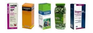 Кодеиносодержащие препараты от кашля
